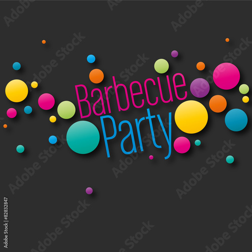 Affiche barbecue party fichier vectoriel libre de dro - Organiser barbecue party ...