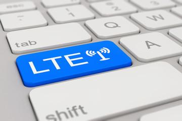 keyboard - LTE - blue