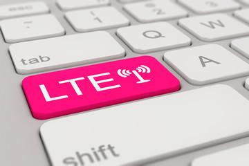 keyboard - LTE - magenta