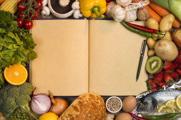 Staple Foods - Recipe Book - Space for Text