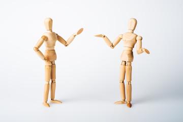Diskussion, Körpersprache