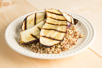 Grileld Eggplant