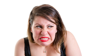 Angry jealous vindictive woman