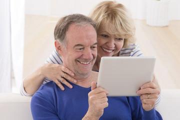Tablette informatique senior