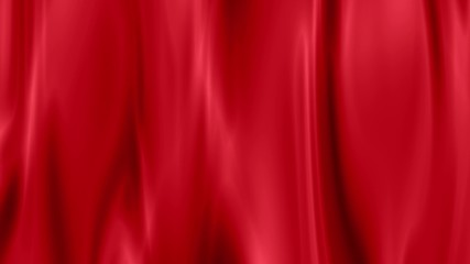 red draped curtain as background,  seamless loop ready animation