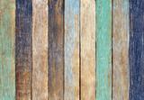 Colorful Wooden Plank Vintage Concept