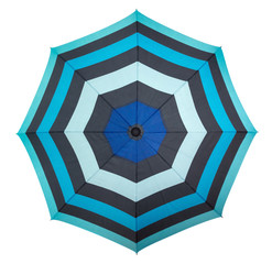 Beach umbrella - top view