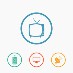 Vector household icons