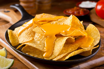 Nachos with Cheese Sauce