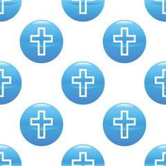 Cross sign pattern