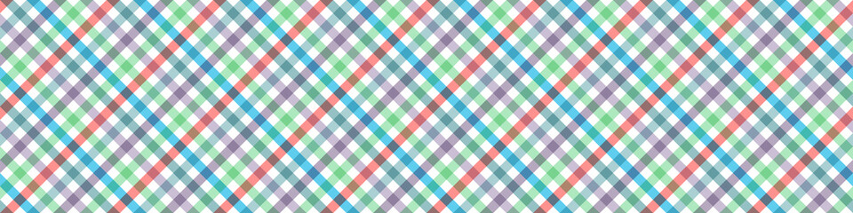 Pastel Tablecloth Multiply Colors Pattern