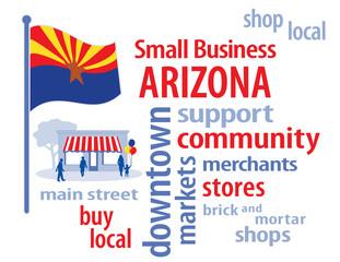 Arizona Flag, shop small business, advertising, marketing, store