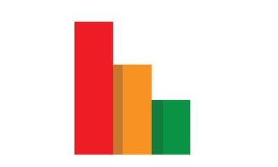 grafico istogramma successo e business