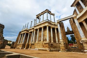 Antique  Roman Theatre. Merida, Spain