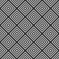 black white tile wall