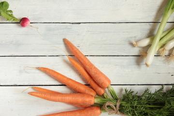 verschiedene Gemüse Alte Sorten bunt