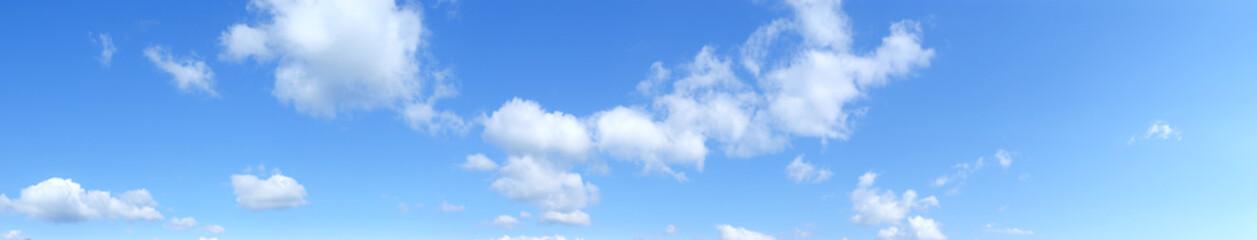 Panoramica di un cielo con nuvole