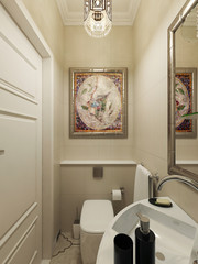 Eastern bathroom design