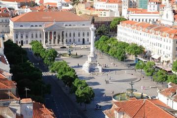 Square in Lisbon, Portugal