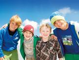 4 glückliche Kinder