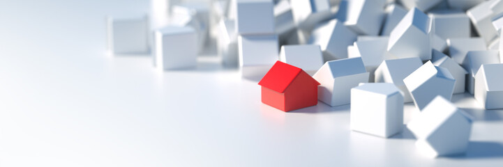 Home background, original three dimensional models.