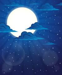 Night sky theme image 5