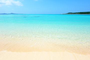 野甫島の美しいビーチ