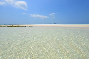 美しい沖縄のビーチ