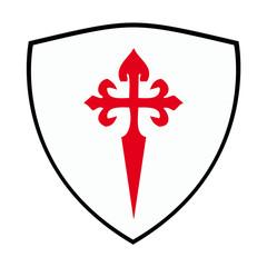 escudo de la orden militar de santiago