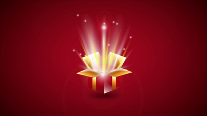 Gift surprise, Video animation, HD 1080