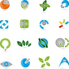 Logos Sammlung, Geometrisch