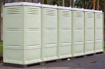 toilettes, vestiaires de chantier