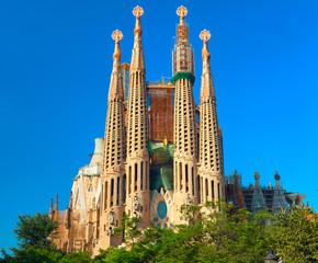 Basilica and Expiatory Church Sagrada Familia.