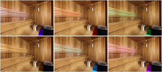 Sauna fińska kilka zdjęć.