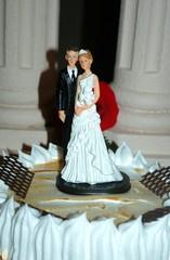 Muñecos de tarta en boda