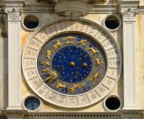 The zodiac of Saint Mark square in Venice