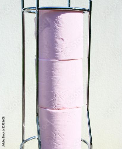 rouleau de papier toilette dans d vidoir. Black Bedroom Furniture Sets. Home Design Ideas