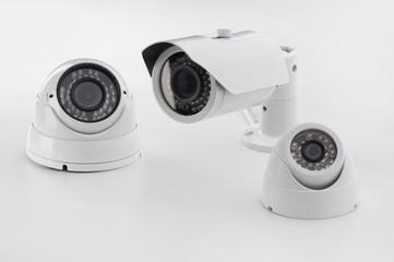 Set of security cameras