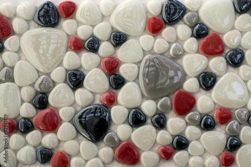 Fototapeta texture mosaic tiles