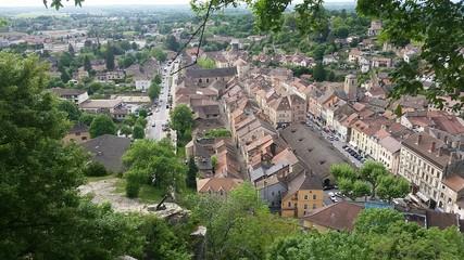 Cité médiévale de Crémieu - Isère France