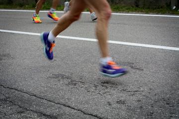 The marathon.. speed