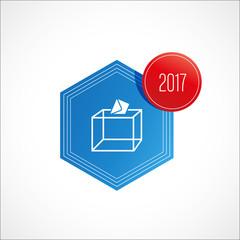urne de vote et enveloppe