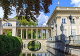 Lazienki Park in Warsaw, details of the Palace on the Water - 82962435