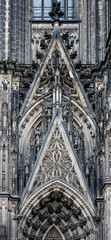 Architectonic detail of Cologne cathedral
