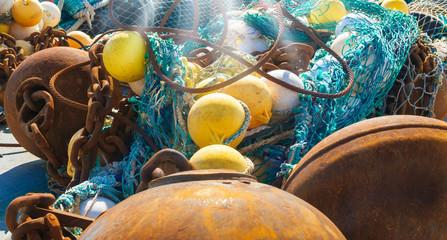 Krabbenfangnetz