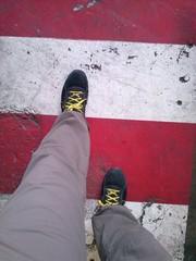camminare sulle striscie