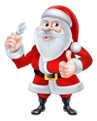 Santa Plumber Concept
