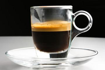 Caffè tazzina in vetro