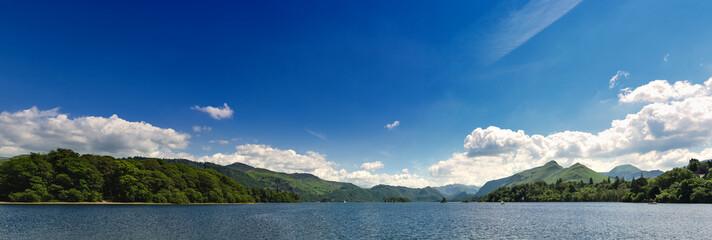 Lake District sea view