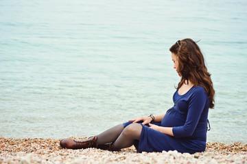 tender pregnant woman
